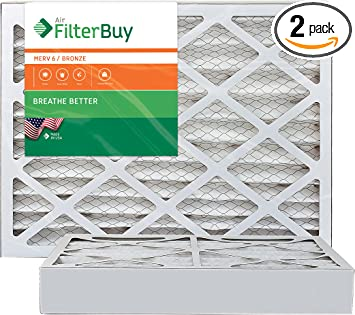 Nordic Pure 19/_7//8x21/_1//2x1 Exact MERV 13 Pleated AC Furnace Air Filters 1 Pack