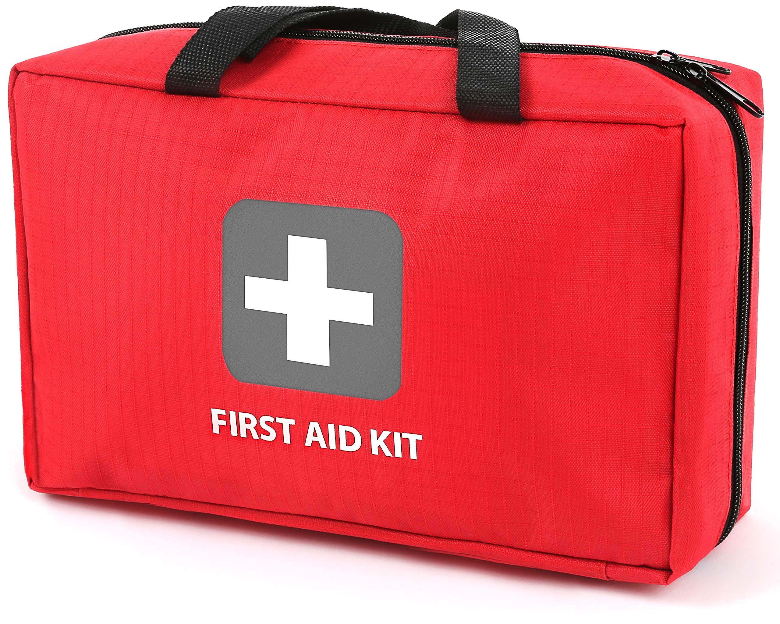First Aid Kit – 291 Pieces of First Aid Supplies | Hospital Grade Medical Supplies for Emergency and Survival Situations | Ideal for Car, Trucks, Camping, Hiking, Travel, Office, Sports, Pets, Hunting, Home