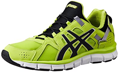 ASICS Men's Gel-Synthesis Lime, Black and Lime Mesh Multisport Training  Shoes - 6