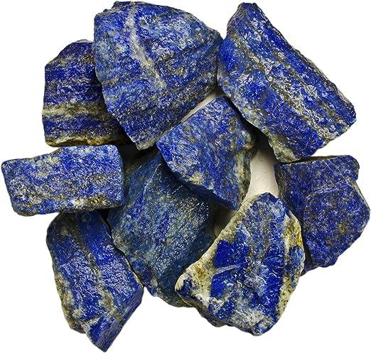 Lapis Lazuli 1//2 Lb Blue Gemstone Rough Lapidary Tumbling Cabbing Afghanistan