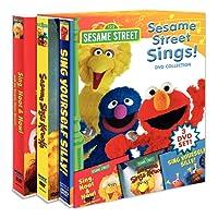 Sesame Street Sings Box Set (Sing Yourself Silly, Sesame Sings Karaoke, and Sing, Hoot, Howl)