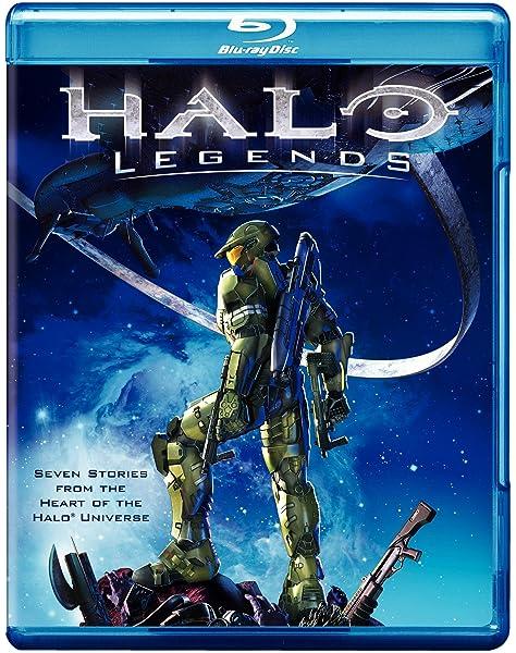 Amazon Com Halo Legends Blu Ray Eiko Tanaka Koichi Mashimo