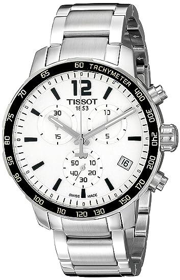 Tissot Reloj Analógico para Hombre de Automático con Correa en Acero Inoxidable T0954171103700: Amazon.es: Relojes