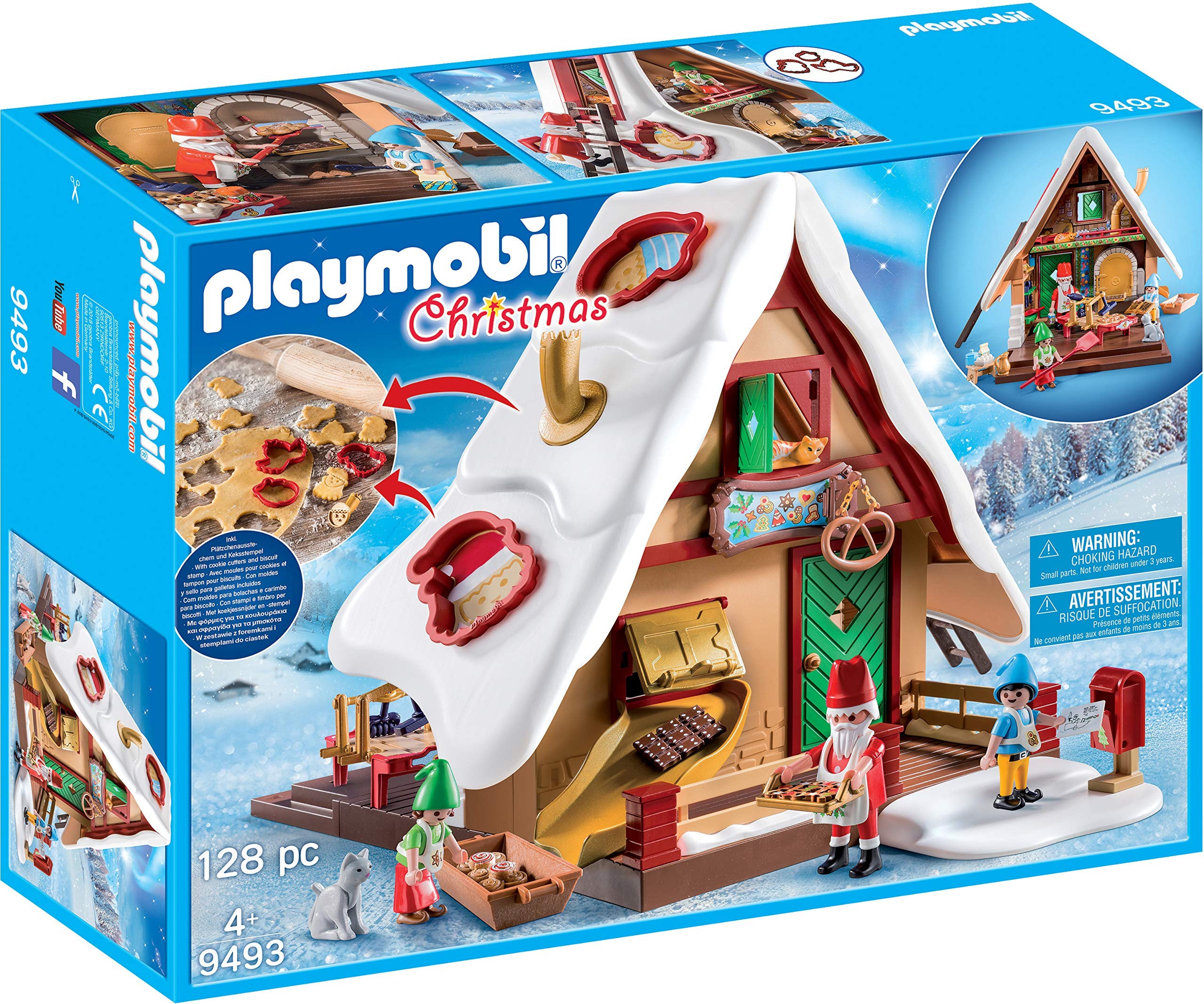 PLAYMOBIL Christmas Bakery with Cookie Cutters by Playmobil