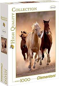 Clementoni Running Horses Puzzle (1000-Piece)
