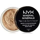 NYX Cosmetics Mineral Finishing Powder, Light/Medium, 0.28 Ounce