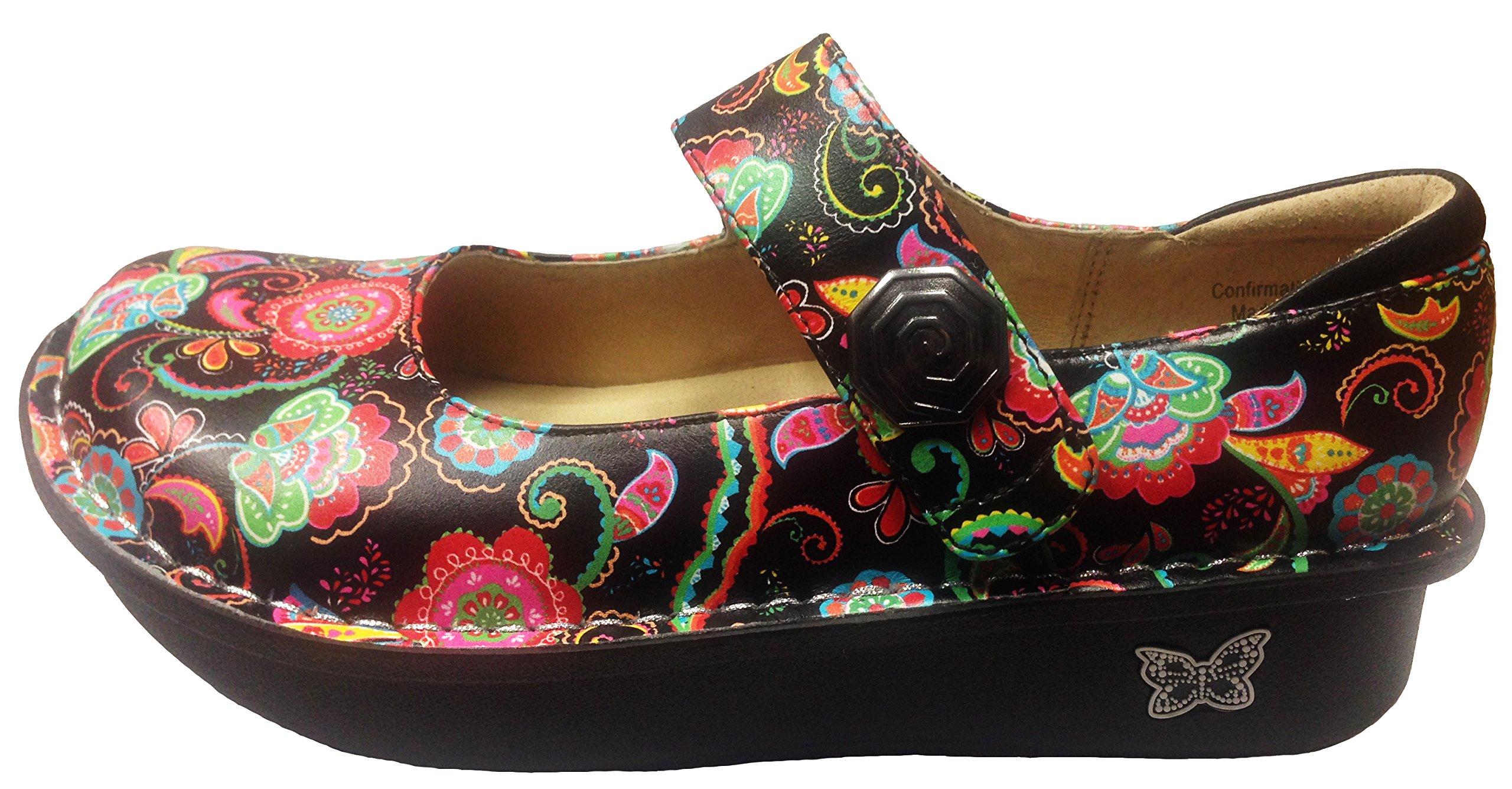 Alegria Women's Paloma Exclusive Professional Shoe (38 M EU/8-8.5 B(M) US, Paisley Party)