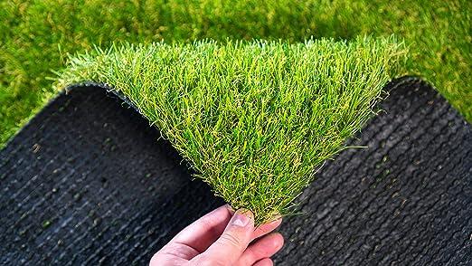 Boladeta - Césped Artificial para terraza y jardín de 20mm - Rollo de 2x5 Metros: Amazon.es: Jardín