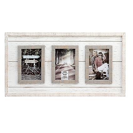 Prinz 3 Opening Madison Wood Collage Frame, 4 x 6\