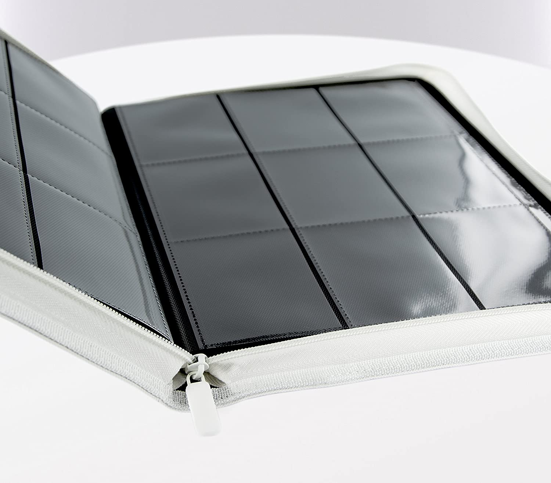Ultimate Guard 9 Pocket XenoSkin Zipfolio White
