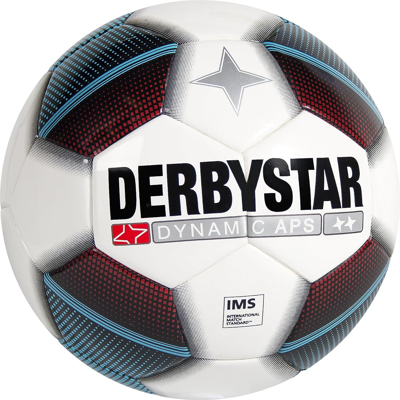 Derbystar fútbol Dynamic APS, Color Blanco/Rojo/Azul/Negro, 5 ...