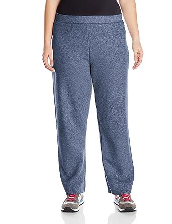 c41bed6044f Just My Size ComfortSoft EcoSmart Fleece Open-Hem Womens Sweatpants, Average  Length: Amazon.co.uk: Clothing