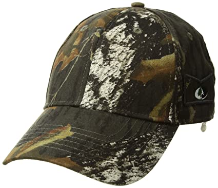 d569a32493083 KC CapsUnisex Hunting Cap Constructed Camouflage Opti-Grab Mesh Hat Visor  with Sunglasses Holder