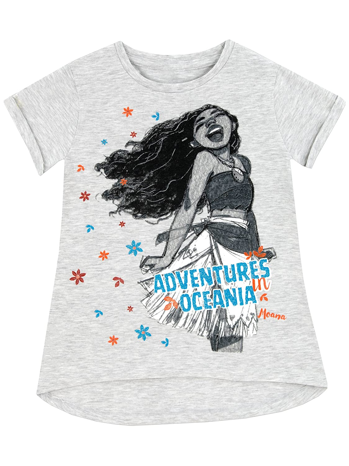 Disney Moana Girls' Moana T-Shirt