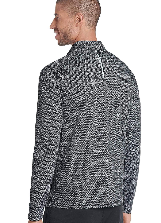 Jockey Mens Sportswear Textured Half Zip