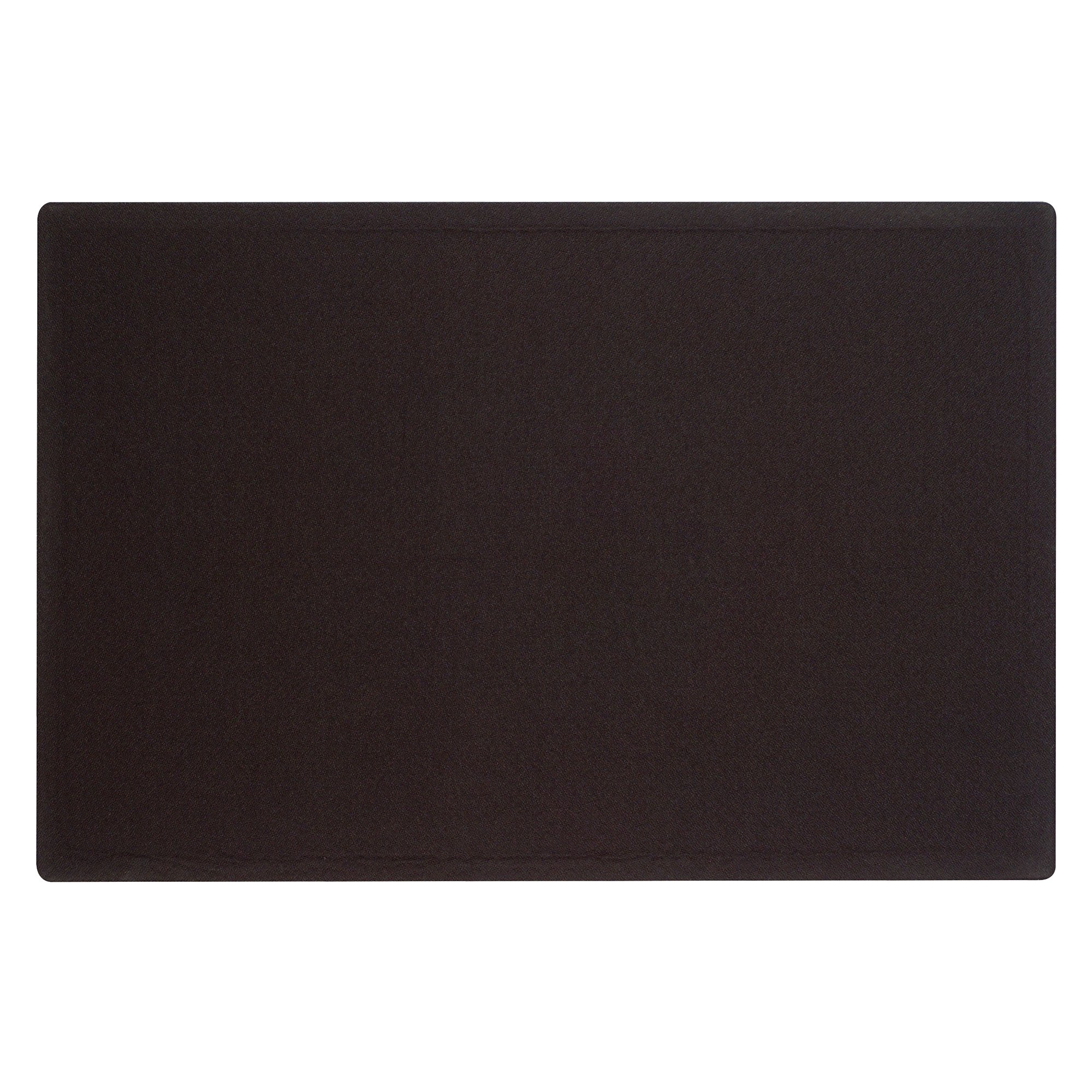 Quartet Oval Office Frameless Fabric Bulletin Board, 3 x 2 Feet, Black, One Board per Order (7683BK) by Quartet (Image #1)