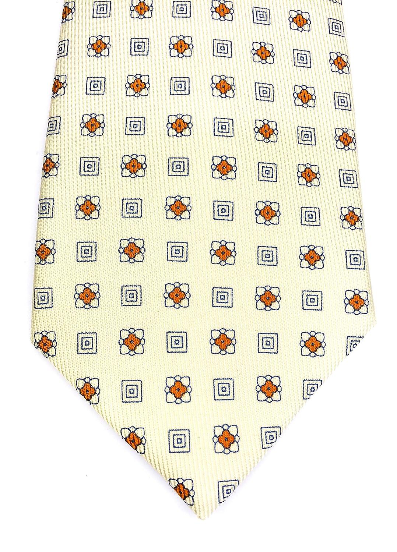 Real Luxury Napoli - Corbata de 7 pliegues de seda, fondo de color ...