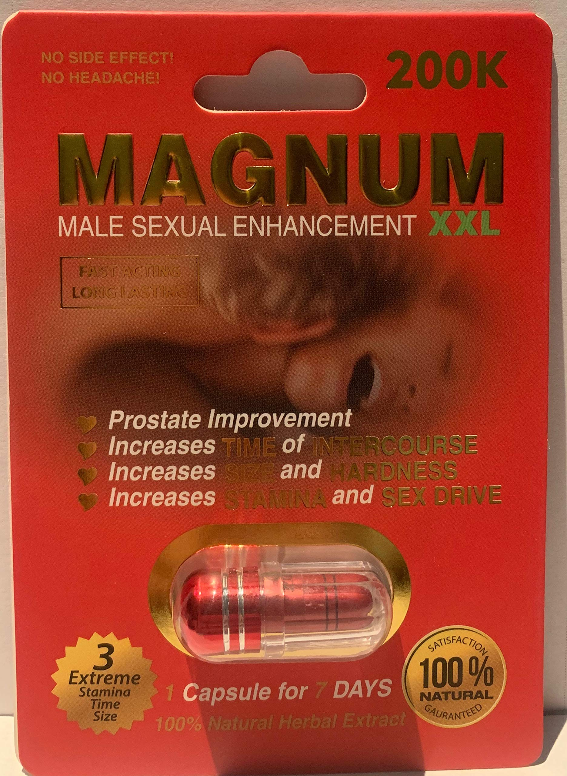 Magnum 200K XXL Red Power Limited Edition (3) by Libimax (Image #1)