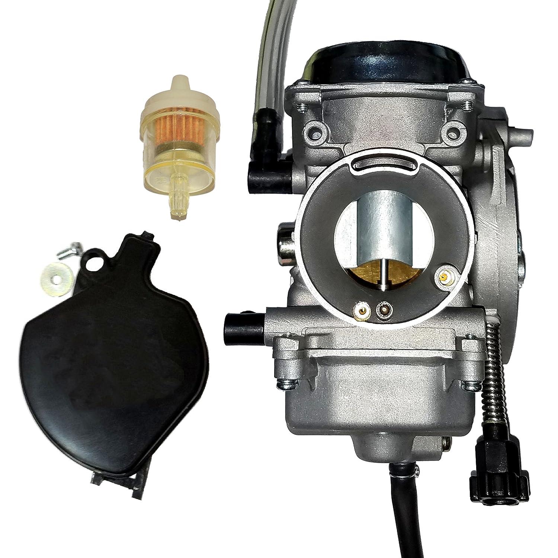 2005 Kawasaki Prairie 360 Carburetor Diagram