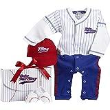 Baby Aspen Big Dreamzz Baseball Layette Set (0-6 months)