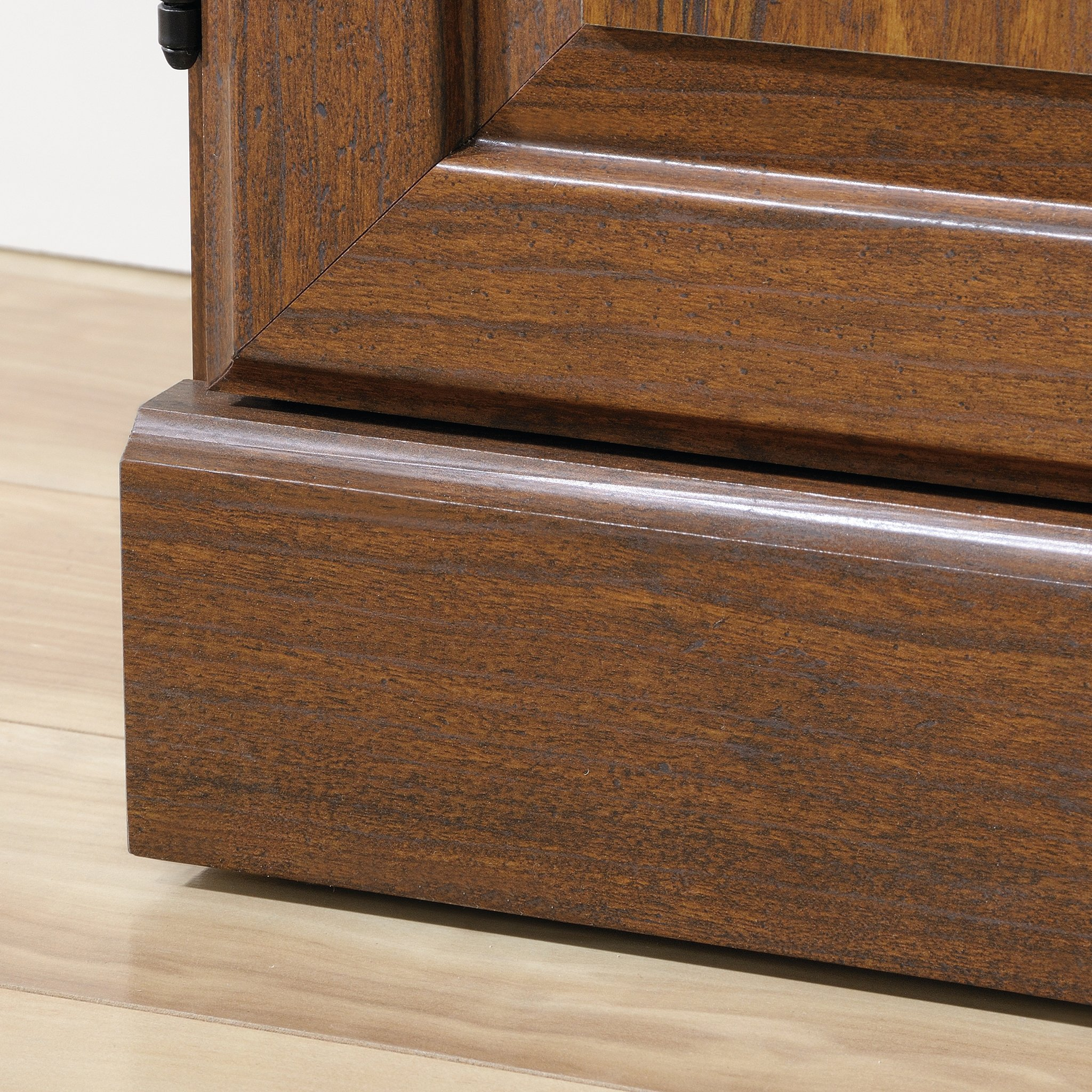 Sauder 418734 Orchard Hills Library with Doors, L: 29.45'' x W: 13.47'' x H: 71.50'', Milled Cherry finish by Sauder (Image #7)