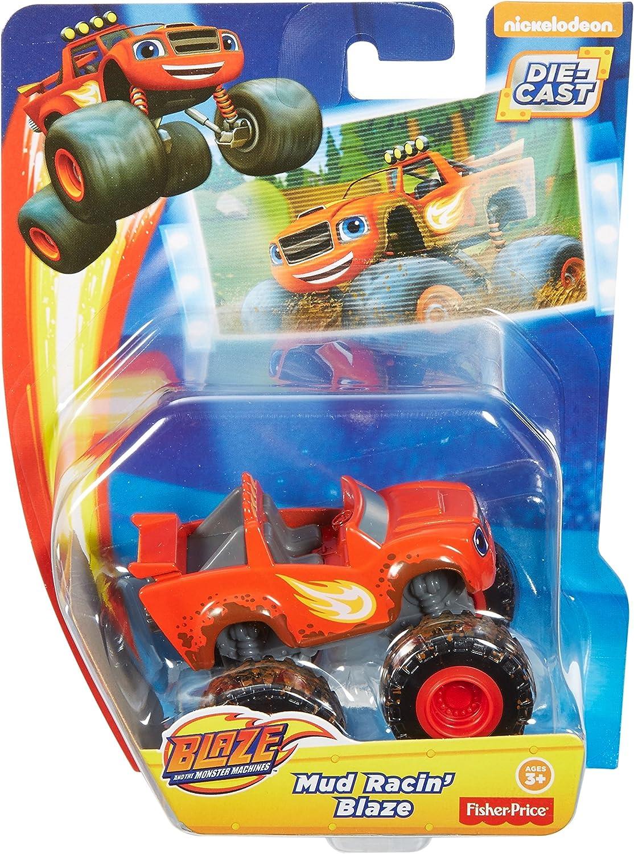 Fisher-Price Nickelodeon Blazing Speed Blaze and Mud Racin Blaze Bundle Fisher Price