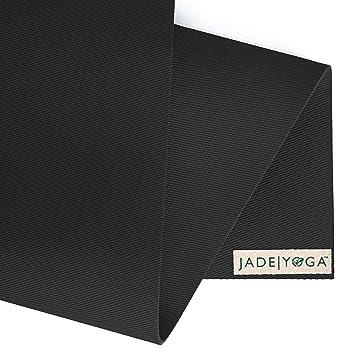 Jade Harmony 3/16u0026quot; 24u0026quot; X 68u0026quot; Black Yoga Mat