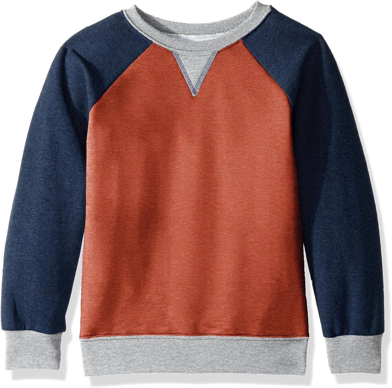 Fruit of the Loom Explorer Fleece Crew Sweatshirt: Clothing