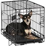 MidWest iCrate Single Door & Double Door Folding Metal Dog Crates