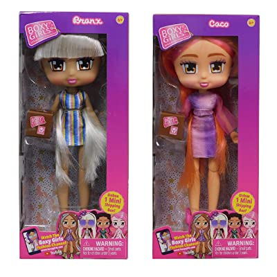 Boxy Girls Dolls Bronx and Coco New: Toys & Games
