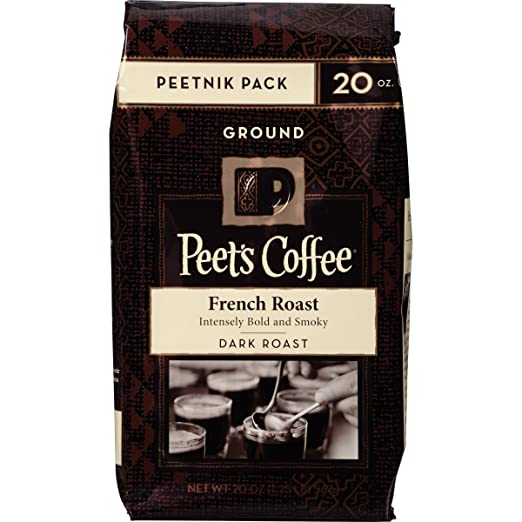 Peet's Coffee & Tea Ground, French Roast, 20 Ounce