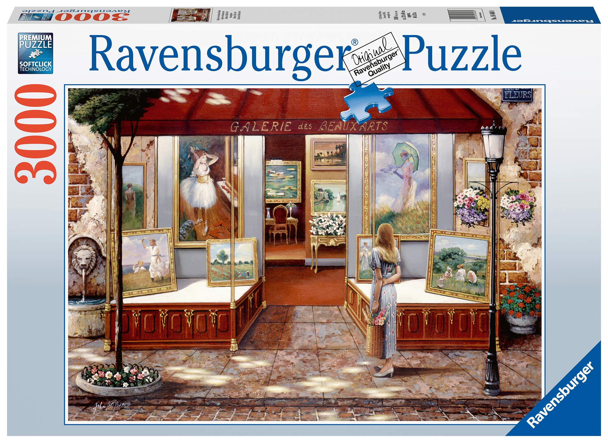 Ravensburger Gallery of Fine Art 3000 Piece Jigsaw Puzzle for Adults & for Kids Age 12 and Up