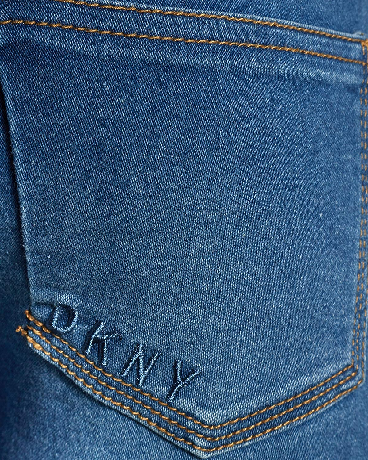 DKNY Girls Super Soft Stretch Skinny Denim Jeans Bleeker Size 8