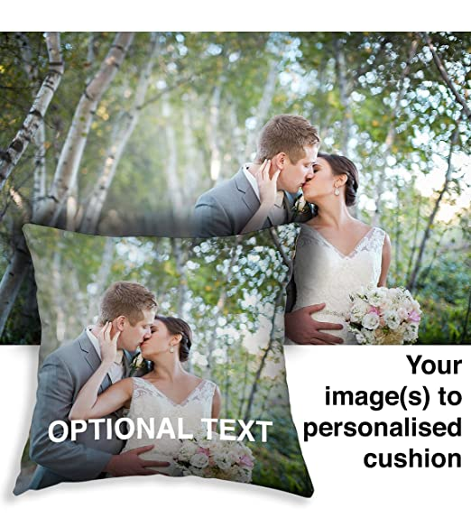 Funda de cojín personalizada con foto impresa personalizada ...