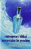 Contemporary Biblical Interpretation for Preaching