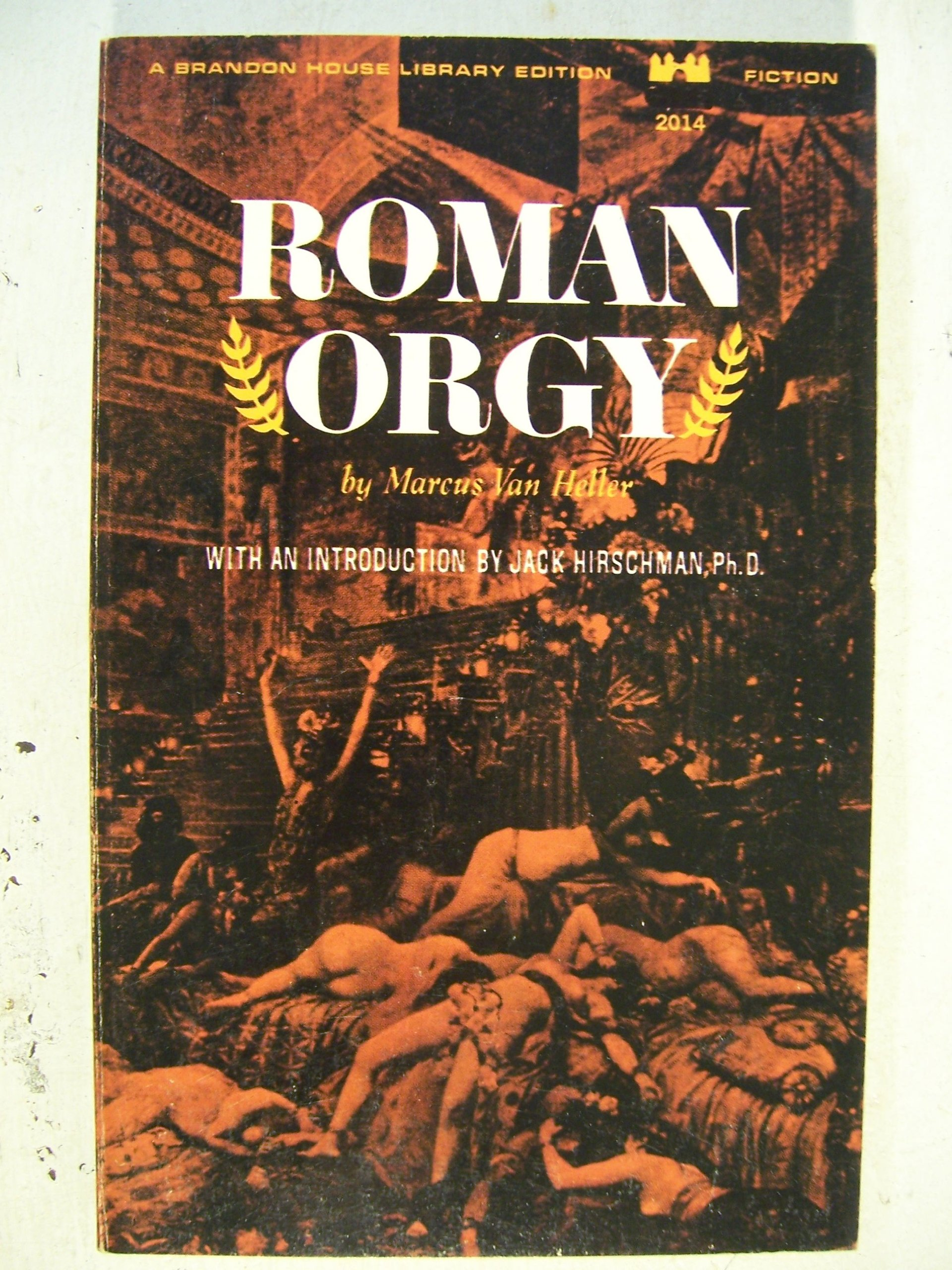 Roman orgy fiction not