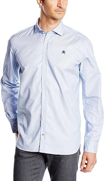 Scalpers Sport Cool Shirt 01, Camisa Hombre, Skyblue, 38 ...