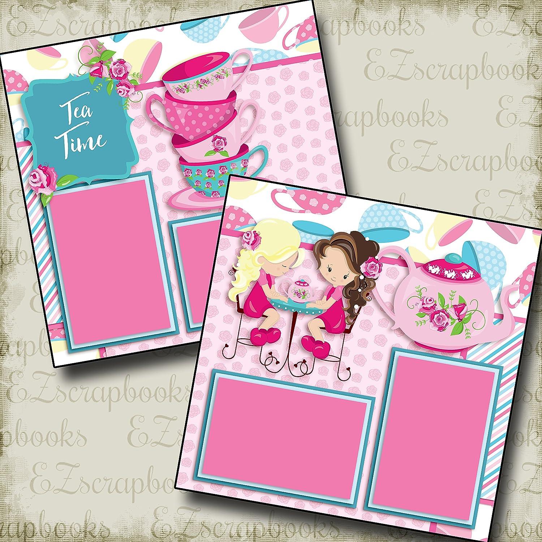 EZ Layout 3180 Premade Scrapbook Pages Pink Pretties