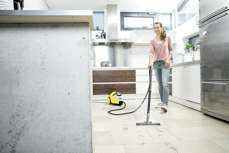 Dampfreiniger in Küche