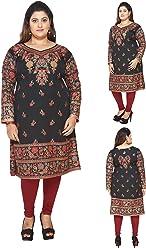 Plus Size (Upto 9XL) Women Indian Pakistani Kurti Tunic Kurta Top Shirt Dress EPlus109A