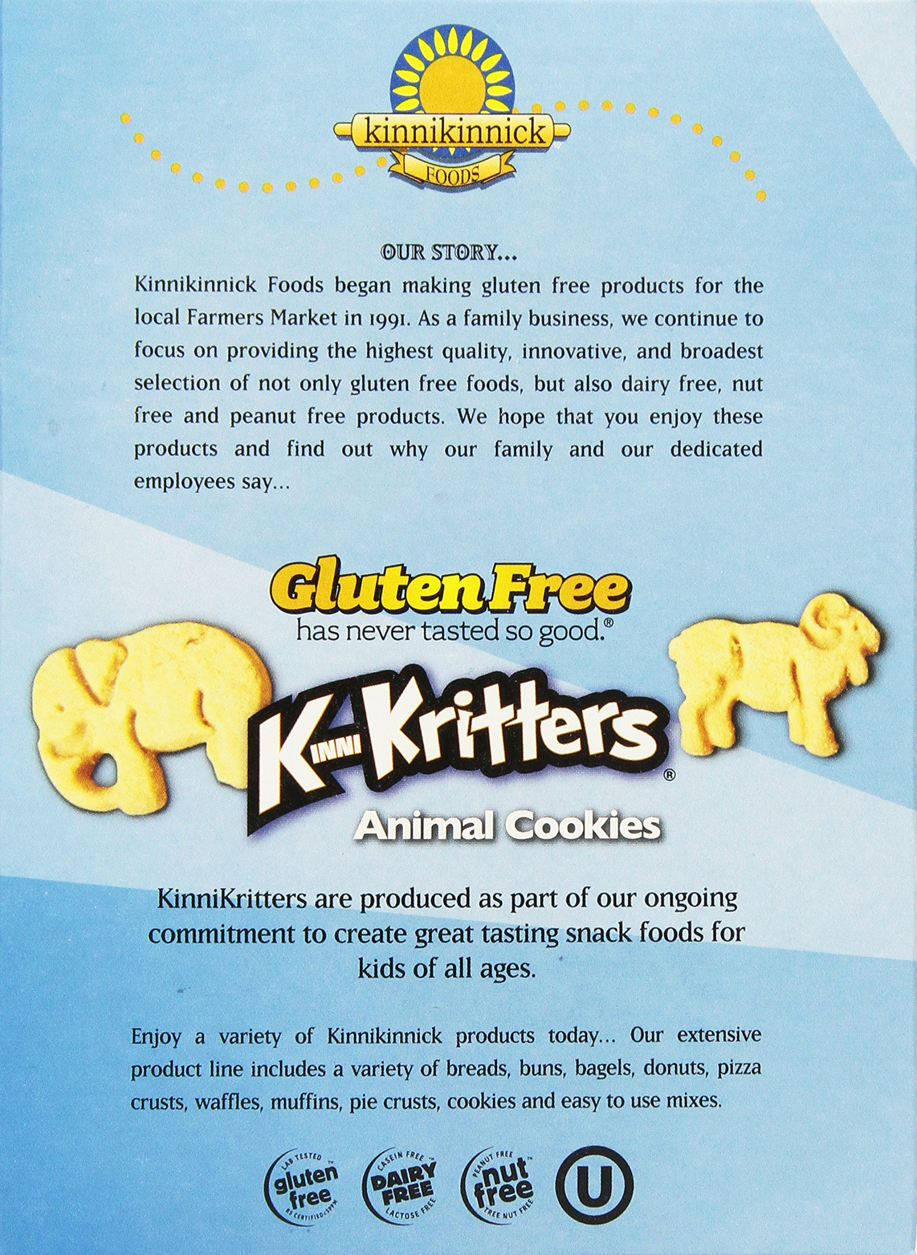 Kinnikinnick Gluten Free Animal Cookies, 8 Ounce (Pack of 6) by Kinnikinnick (Image #4)