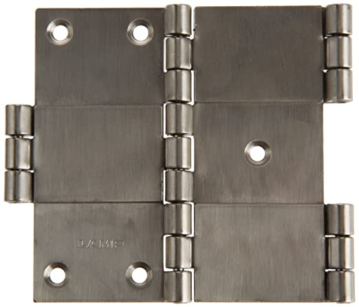 Stainless Steel 304 Polished Finish Right Handedness Sugatsune KN-64R//SS Lift Off Hinge 1.5mm Leaf Thickness 7.5mm Pin Diameter 36mm Open Width