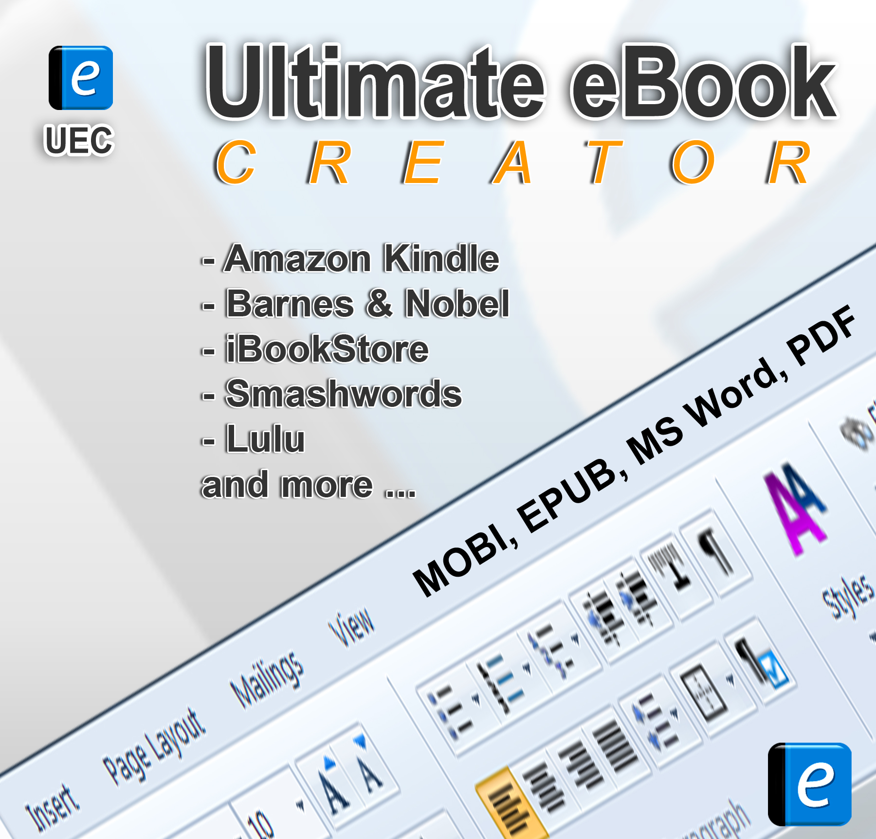 Ultimate eBook Creator: eBook Creation Software Kindle, iPad and Android Devices [Download] (Amazon App Ipad Kindle For)