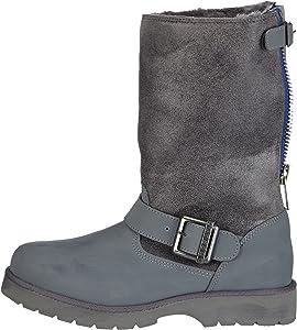 Buffalo Winter boots hedosa Leather and imitation leather
