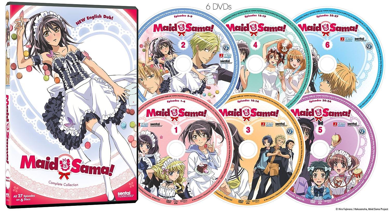 Maid Sama: Complete Collection: Amazon.de: DVD & Blu-ray