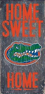 Florida Gators Wood Sign - Home Sweet Home 6x12