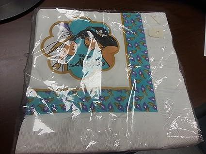Amazon.com Aladdin Jasmine Napkins Lunch Party Birthday