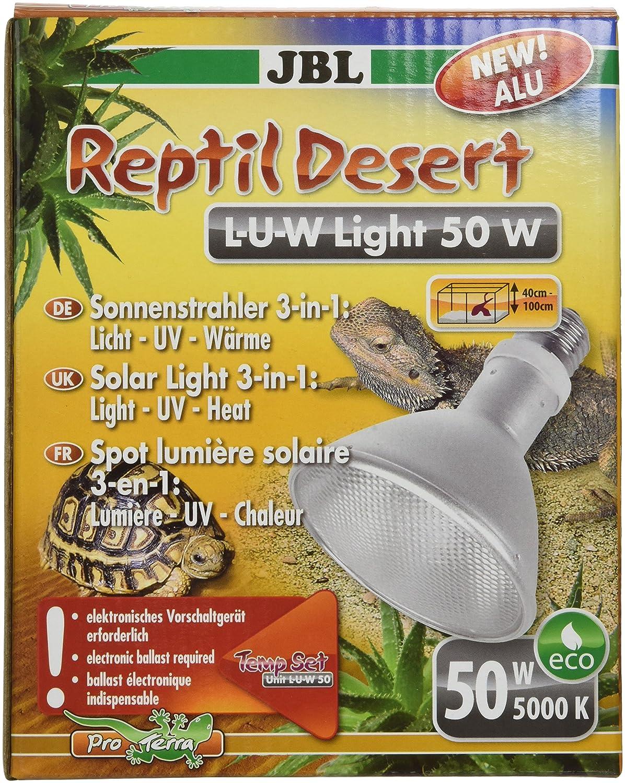 50 W JBL Reptile Desert Sun Spot Spotlight for Desert Terrariums – U W L