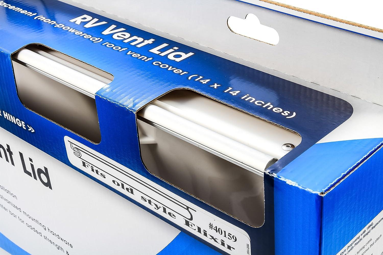 pre 1994 Elixir Camco 40156//40159 White Polypropylene Vent Lid