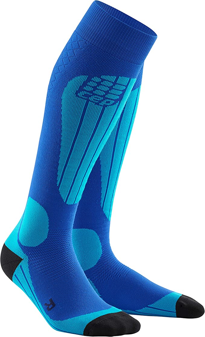 Compression Thermo Ski Socks Black//Deep Blue Size III CEP Men/'s Progressive